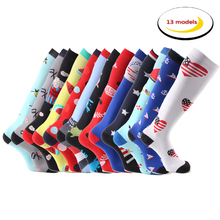 MYORED 5 pairs bright multi colorful Luxury dress socks combed cotton crew sock
