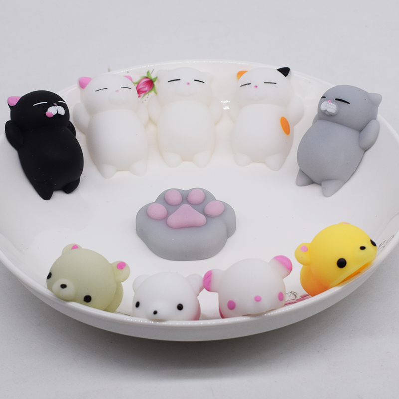 New Squishy Bears Antistress Slime Entertainment Small Cute Lizun Stress Relief Gag Toys Animals Gadget Fun Play For Wholesale ...