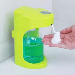 Image 5 - 500 ml סבון קצף עבור נוזל סבון קיר רכוב Dispenser חכם חיישן Touchless אמבטיה מטבח מכשירי