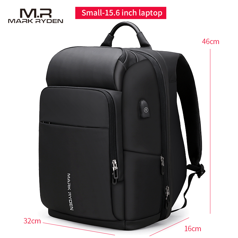 men's backpack waterproof bag Retro oil wax large capacity outdoor canvas bag backpack computer bag - 5