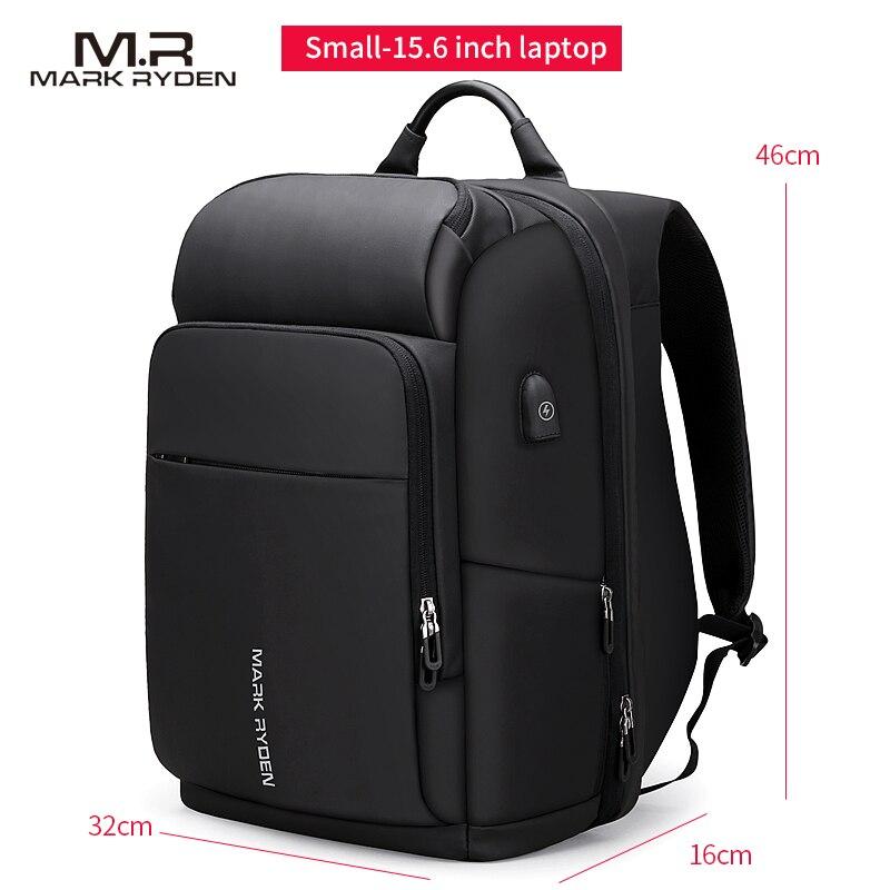 Mark Ryden hommes sac à dos multifonction USB charge 17 pouces pochette d'ordinateur grande capacité étanche sacs de voyage pour hommes - 6