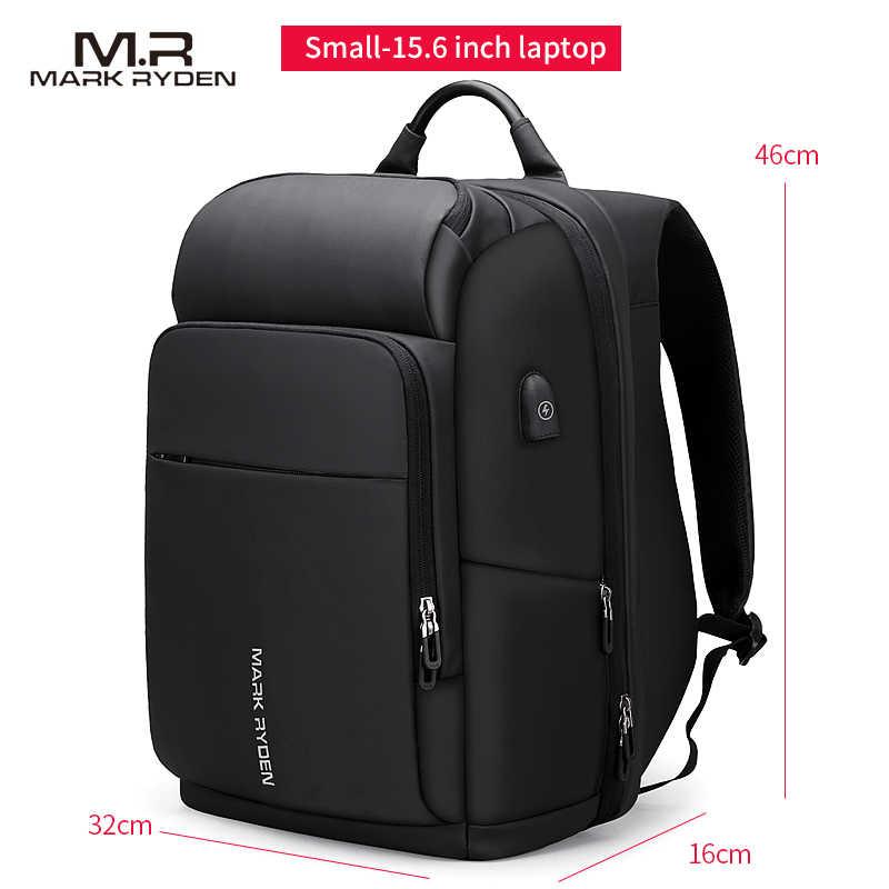 Большой мужской рюкзак Mark Ryden, многофункциональный вместительный рюкзак с USB-зарядкой и местом для ноутбука 17 дюймов, водоотталкивающий, дорожная сумка, 2019