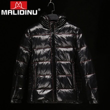 MALIDINU Brand New 2017 Winter Mans Thicken White Duck Down Jacket Coat Hood Parka European Size Free Shipping M13922