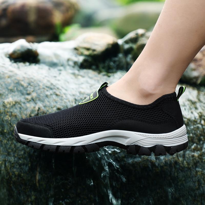 Big Size 48 Men Outdoor Sneakers Breathable Aqua Swimming Shoes Women Outdoor Summer Sandals Beach Trekking Trail Water Sandals