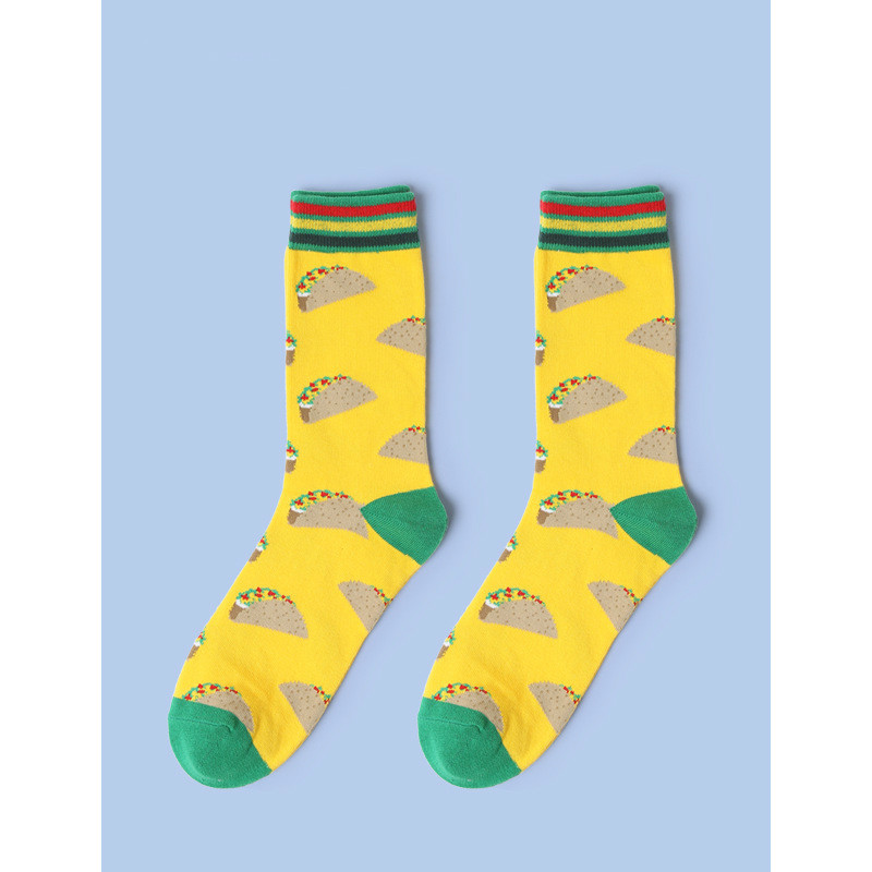 Green Frog Crazy Socks Casual Socks Funny For Sports Boot Hiking Running Etc.