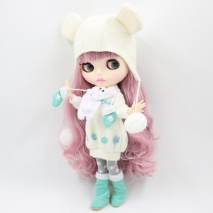 Image 3 - Fabriek 1/6 Blyth Pop Speelgoed Bjd Joint Body Mix Roze Haar Witte Huid Joint Body Gift 1/6 30Cm 280BL1063/2352, naakte Pop
