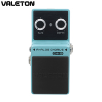 Valeton Valeton Analog Chorus Guitar Pedal Effect Warm Natural Tone Rich Harmonics Buffer Bypass CH 10