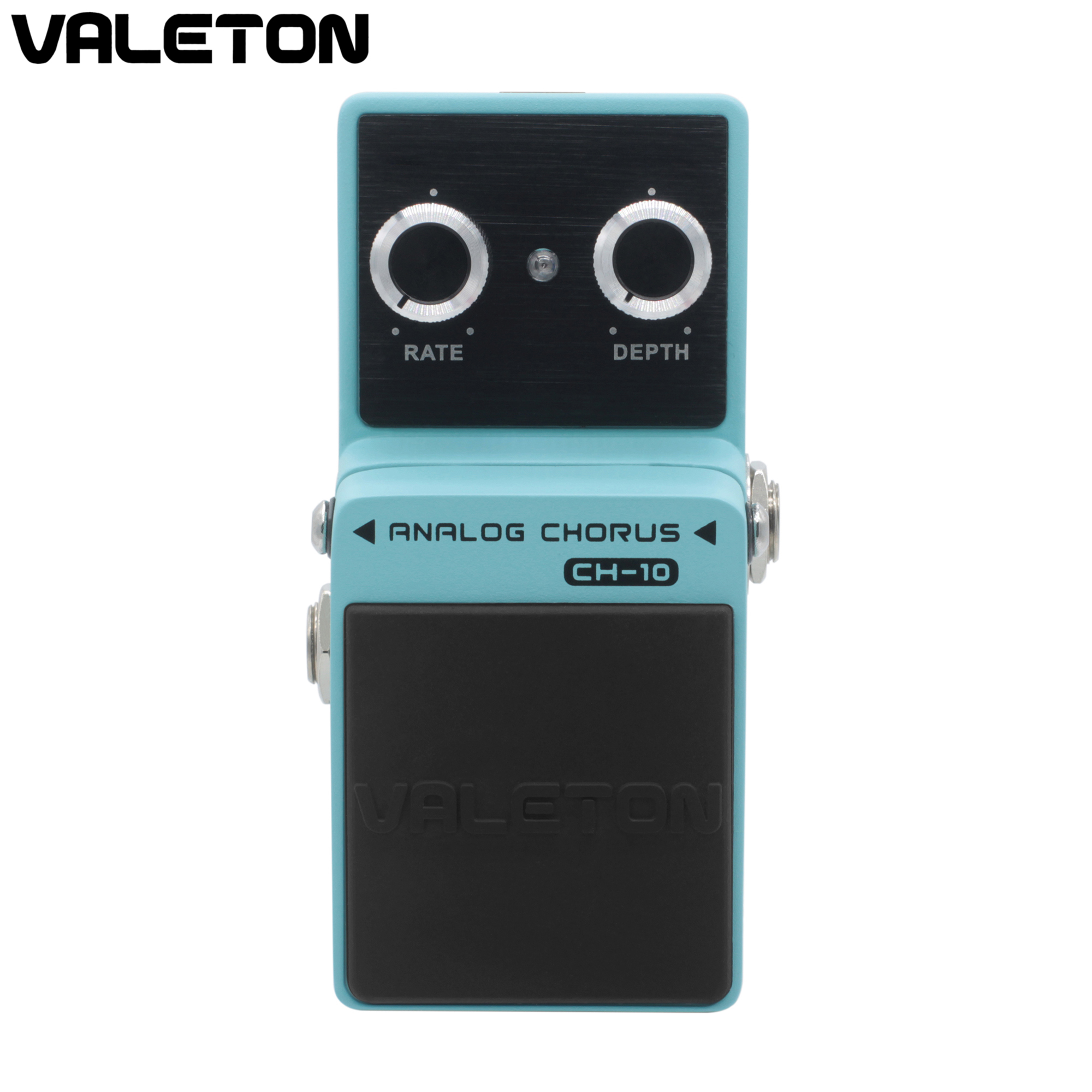 Valeton Valeton Analog Chorus Guitar Pedal Effect Warm Natural Tone Rich Harmonics Buffer Bypass CH-10 mooer ensemble queen bass chorus effect pedal mini guitar effects true bypass with free connector and footswitch topper