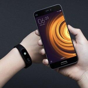 Image 3 - Orijinal Xiaomi Mi Band 2 Miband 2 akıllı kalp hızı monitörü bileklik Android iOS bilezik Touchpad OLED ekran