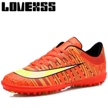 LOVEXSS Boy Kids Soccer Shoes For Women Men Antiskid Sport Shoes Woman Man Brand Turf Football Boots Outdoor Athletic Sneakers