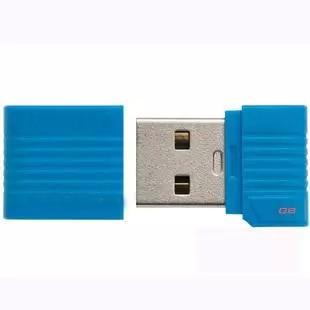 Waterproof mini Blue usb flash drive 64gb 32gb 16gb 8gb usb 2.0 flash pendrive memory stick usb flash drives card best gift(China (Mainland))