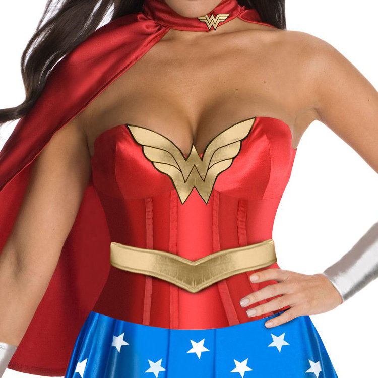 Wonder Woman Costume Corset Top