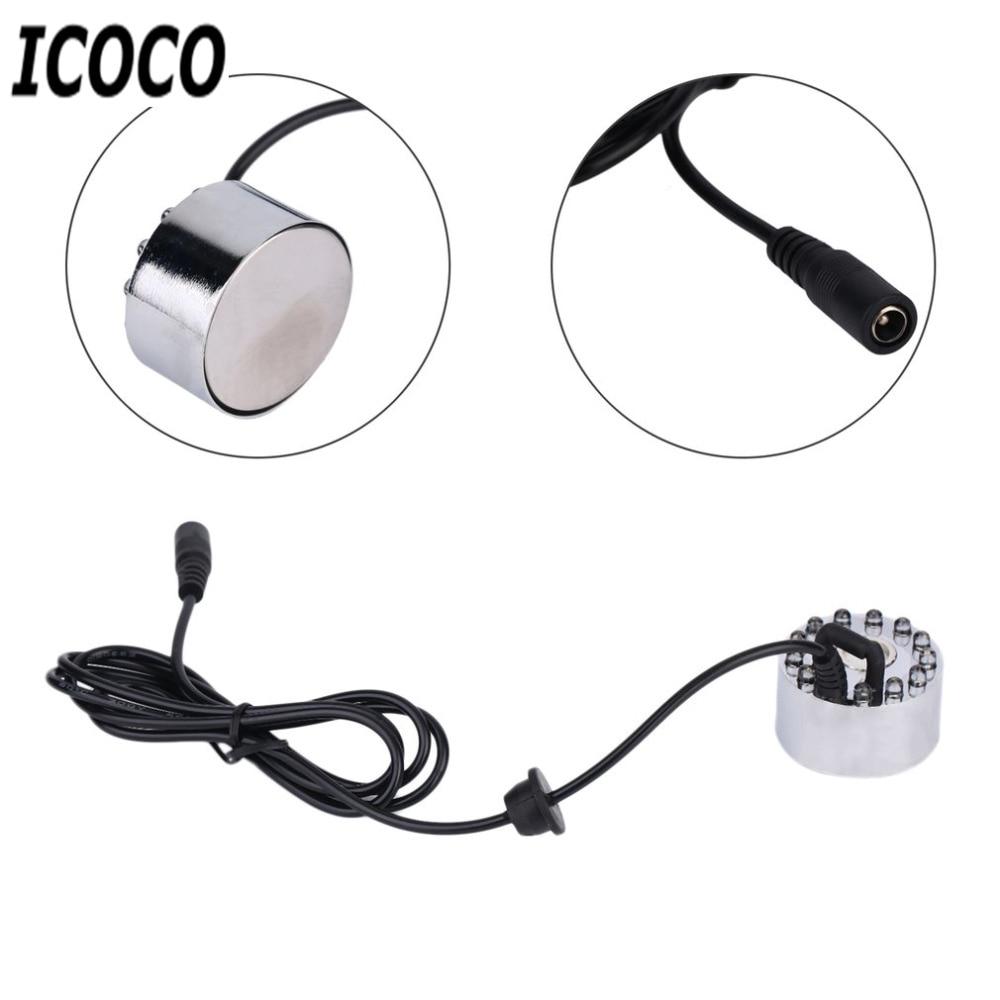 ICOCO New High Quality 12 LED Coloful ուլտրաձայնային - Արտաքին լուսավորություն - Լուսանկար 6
