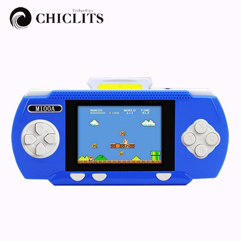 Nes Mini Tetris Video Game Console Electronic Handheld Games Retro Brick Game Consola De Jeu 2017 3.2Inch Video Games Two Player