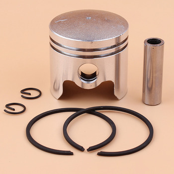 40mm Piston Pin Ring Set For 40-5 43cc BC430 CG430 1E40F-5 Brush Cutter Trimmer Mower 10mm Pin replacement cylinder piston kit 40f 5 43cc for gasoline brush cutter