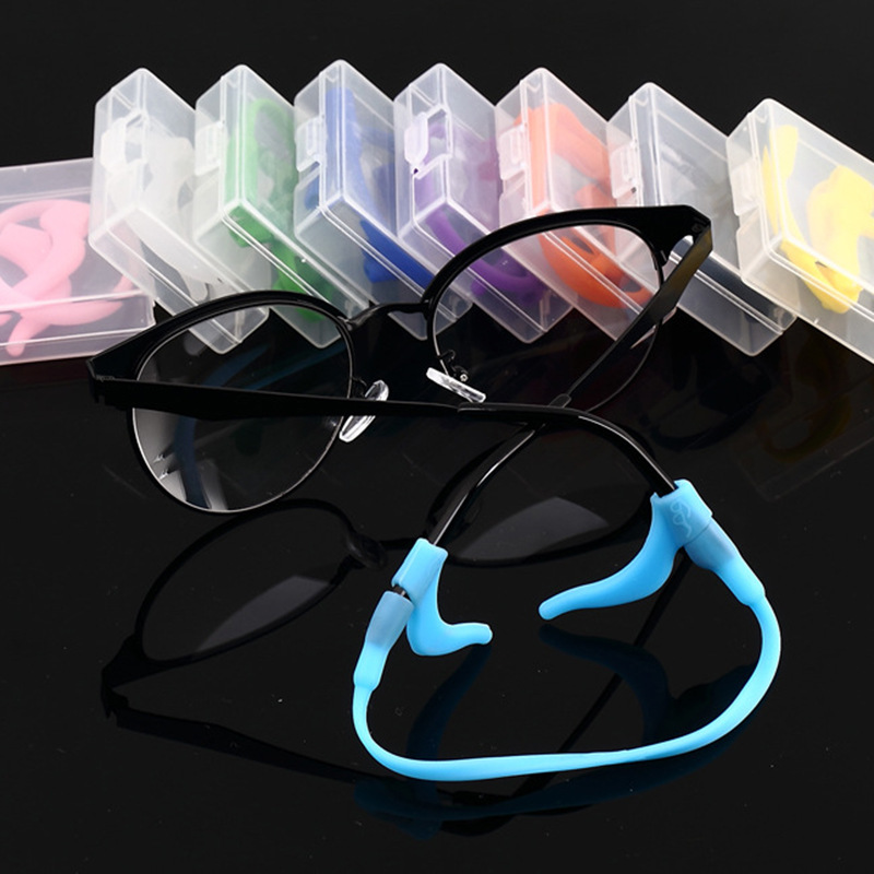 Top Elegent Eyeglasses Cord Silicone Head Band Strap Cord Glasses Safety Band Strap Retainer Sports Holder Chain