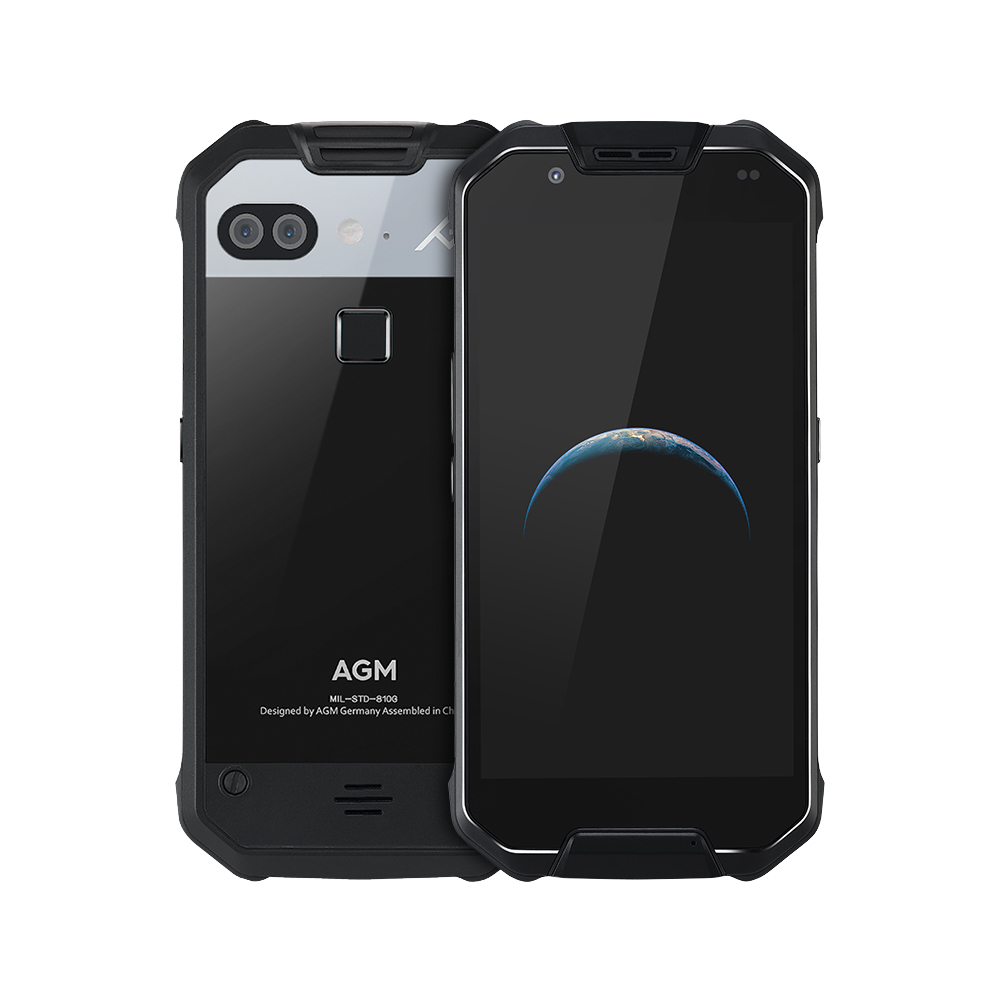 AGM X2 IP68 Waterproof Shockproof Rugged MSM8976SG Android 7.0 NFC OTG Fingerprint 6GB RAM 64/128GB ROM 16MP+12MP NFC GPS