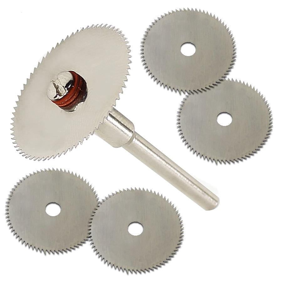 5pcs 22mm Wood Cutting Disc Accessory For Dremel Rotary Tools Dremel Dremel Tools