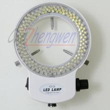 FYSCOPE 144 светодиодный кольцевой белый светильник-осветитель лампа для промышленного стерео микроскопа с регулируемым блоком питания переменного тока