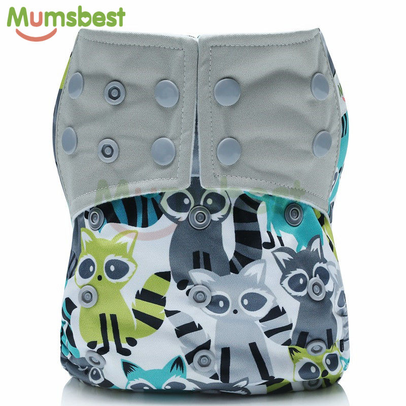[Mumsbest] 10PCS Baby Cloth Diapers Pocket Washable Reusable Cloth Pocket Nappy Cover One Size Most Popular Baby Diaper Cover