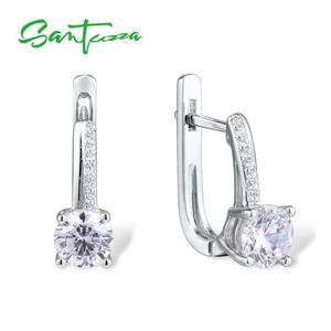 SANTUZZA Silver Earrings For W