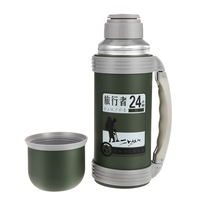 1.2L High Capacity Vacuum Flask Thermos Cups Water Bottle 24 Hours Insulated Thermal Bottle Car Coffee Tea Insulated Mugs
