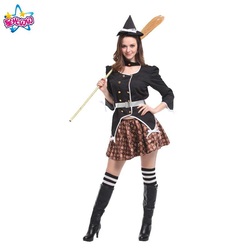 Gratis frakt Mode Halloween Kostym Vuxna Kvinnor Sexig Plus Storlek - Maskeradkläder och utklädnad - Foto 6