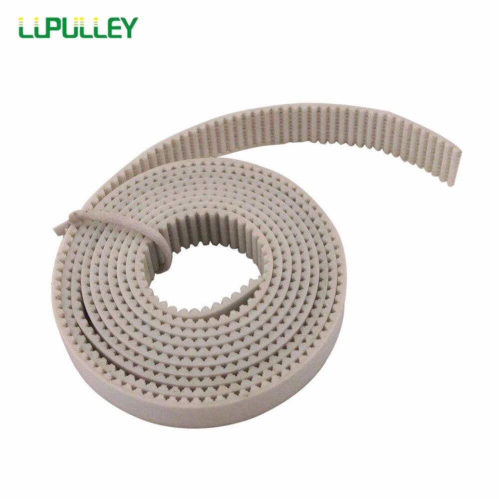 Lupoulie MXL courroie de distribution ouverte 1 M/2 M/3 M/4 M/5 M/6 M/7 M/8 M/9 M/10 M longueur de pas MXL 6/10 courroies dentées ouvertes synchrones blanches de largeur mm