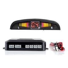 Brand New Car LED Parking Sensor Kit Display 4 Sensors 12V for all cars Reverse Assistance