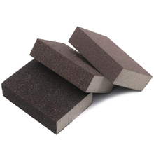 3pcs Polishing Sanding Sponge Block Pad Set Sandpaper Assorted Grit 100 180 320