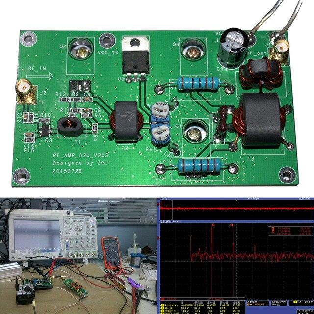 Leory amplificador de potência rádio amador transceptor 45 w ssb hf linear placa desenvolvimento rádio ondas curtas kit alta qualidade