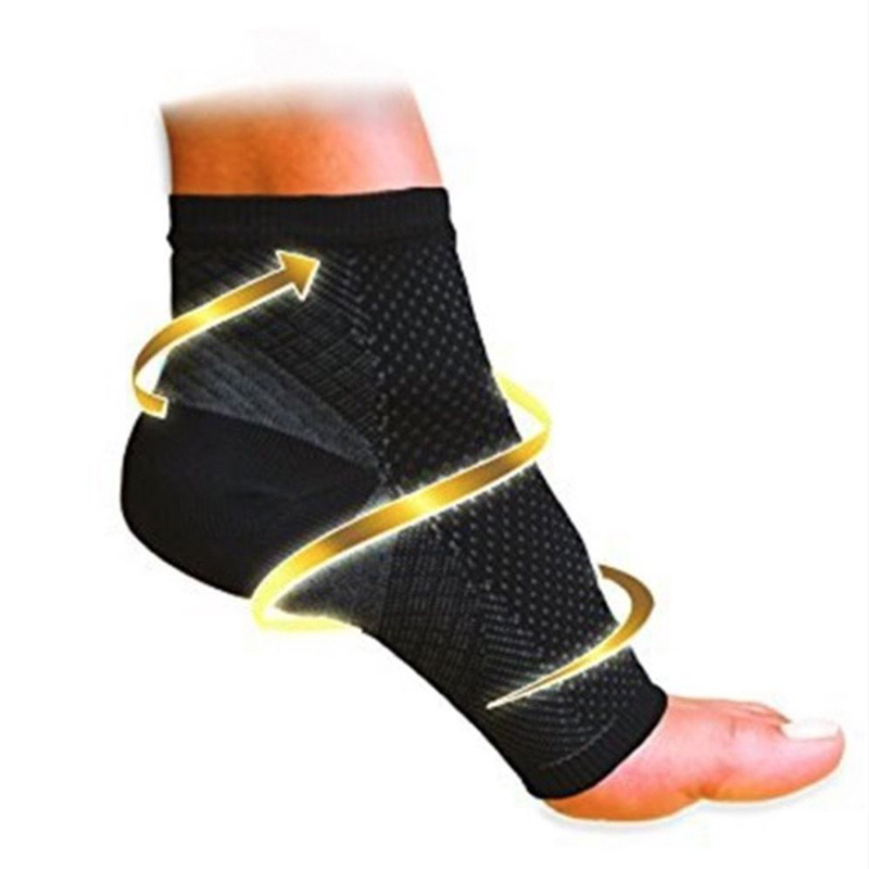 1 Pair Fashion Men Women Cycle Socks Men Anti Fatigue Compression Foot Sleeve Mens Sock