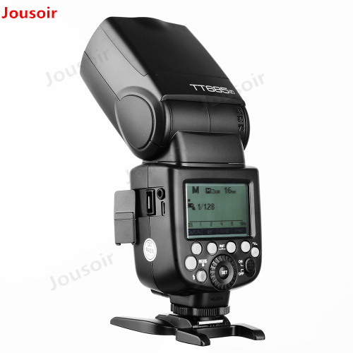 Godox Speedlite TT685F per Fuji Macchina Fotografica Flash TTL HSS GN60 Ad Alta Velocità 1/8000 s 2.4g per Fuji x-Pro2/1 X-T20 X-T2 X-T1 CD50