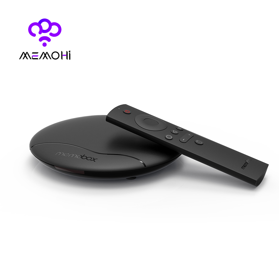 MEMOHI MEMOBOX UFO Streaming Media Player Android 6.0 Quad Core 64Bit Smart TV Box support VP9 HDR H.265 UHD 4K KODI Set-top Box