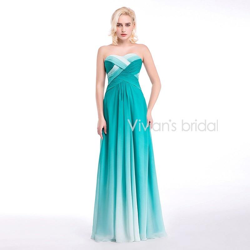 Vivian's Bridal 2018 Women   Evening   Party   Dress   Sexy A-Line Long   Evening     Dress   Formal   Dresses   Colorful Cheap   Evening   Gown