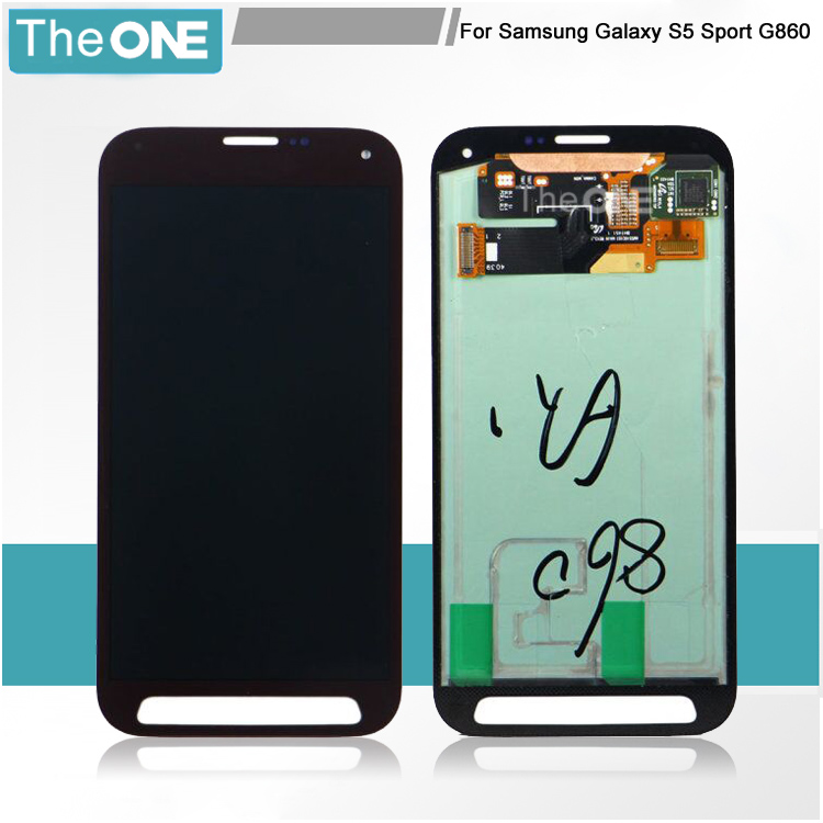 5 pcs For Samsung Galaxy S5 Sport G860 G860P LCD Display Touch Screen Digitizer Black/Grey/Blue