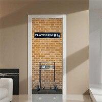 Platforma 3D Naklejki Ścienne Naklejka Art Decor Vinyl Zdejmowane Ścienne Plakat Sceny Okna Drzwi Hurtowni Darmowa Wysyłka RJL13 # A10