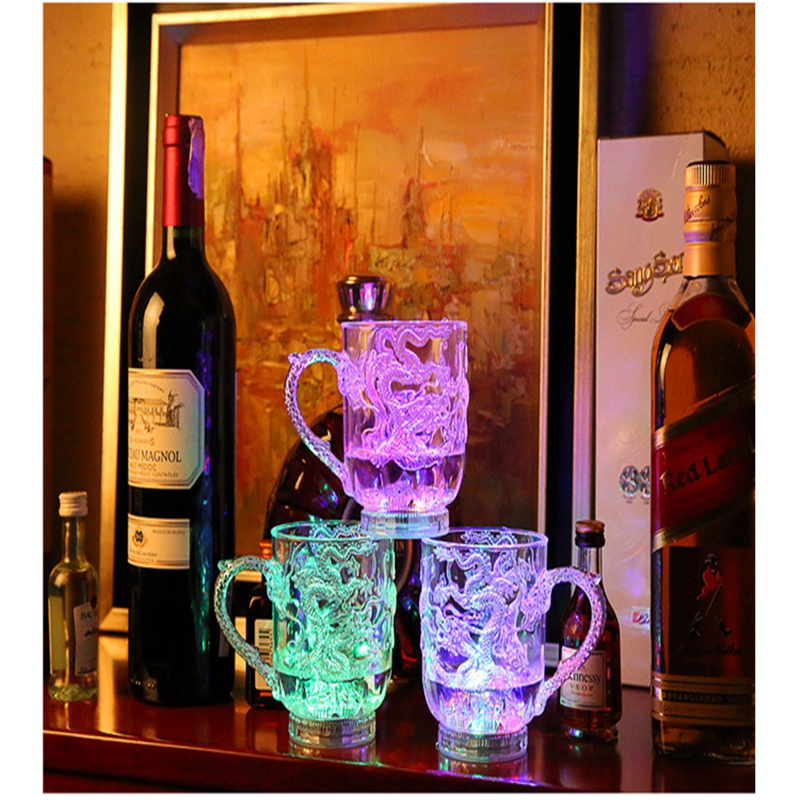 Unique Design LED Toy Light Color Change Pouring Water Activates Light up Dragon Luminous Cup for Holiday Party Decoration Lamp (12)