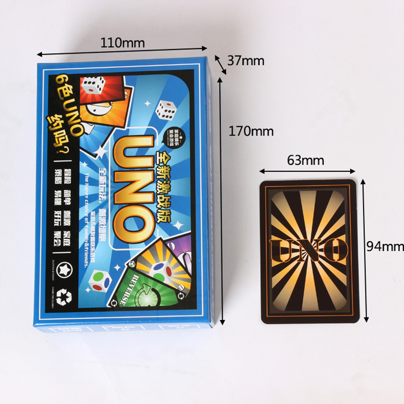 Board Game New Different Kinds Of Fold Uno Poker Card Game Playing