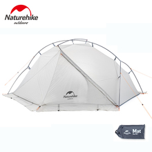 Naturehike VIK Series 1 Person Camping Tent Ultralight Waterproof 15D Nylon Single-layer Outdoor Hiking With Mat NH18W001-K