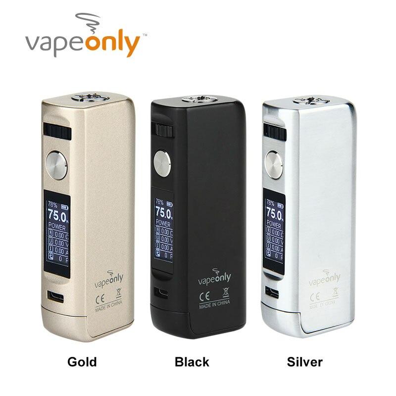 bilder für Elektronische zigarette vapeonly lancer tc 75 watt box mod unterstützung vw/vt/tcr modi lancer tc75w mod vape von vapeonly keine 18650 batterie