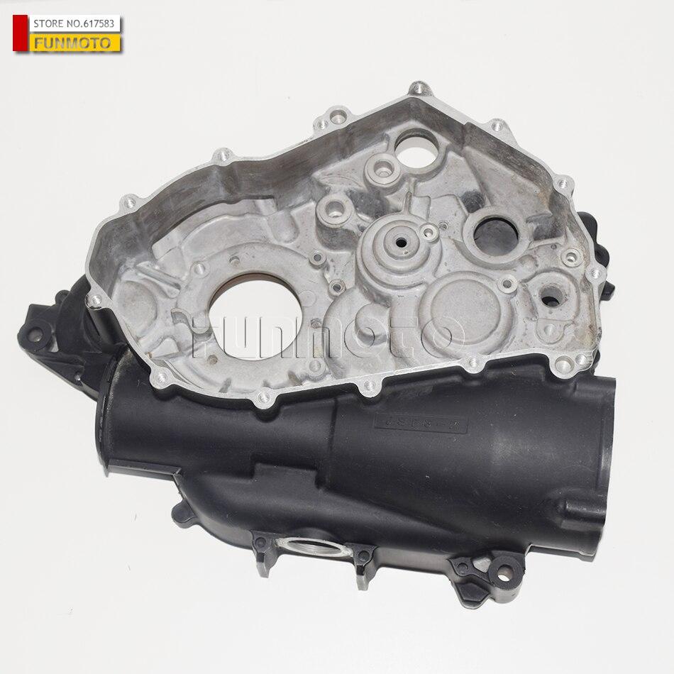 100% Verdadero Cubierta Del Cigüeñal Izquierdo De Las Piezas Del Motor Para Las Piezas Del Motor Jianshe 400 Atv Js