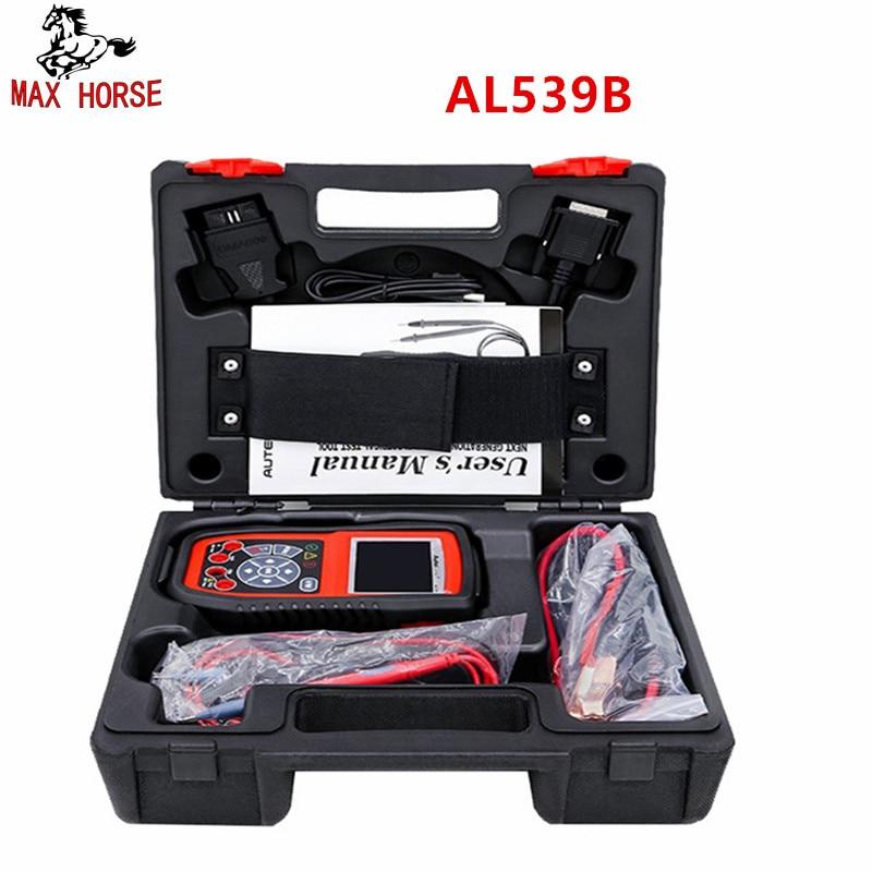 Autel Autolink AL539B OBD2 scanner automotive Electrical Test Tool For odb2 diag