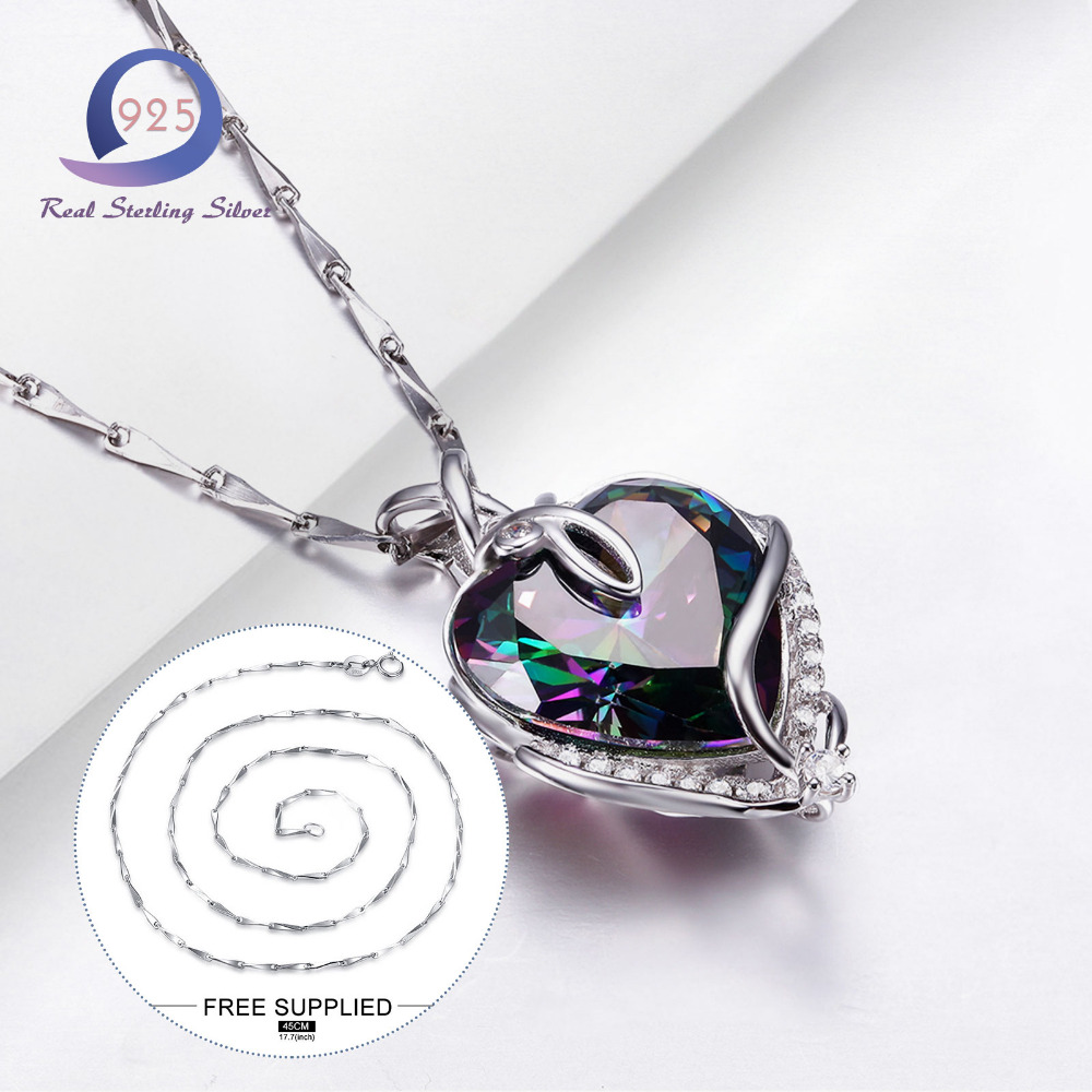 Merthus Trendy 925 Sterling Silber Chian Halskette Mystic - Edlen Schmuck - Foto 6