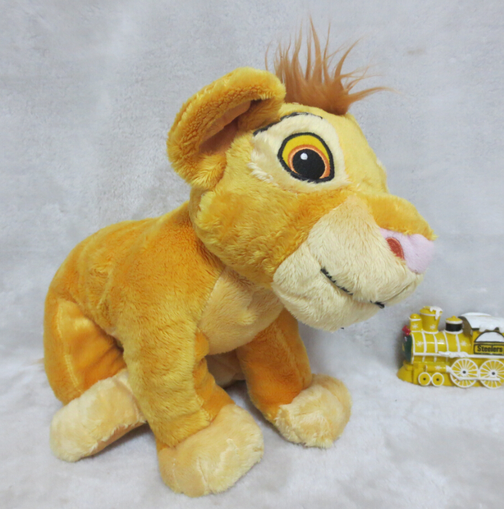 Lion King Exclusive Deluxe Plush Figure Young Simba Plush Toys 33cm