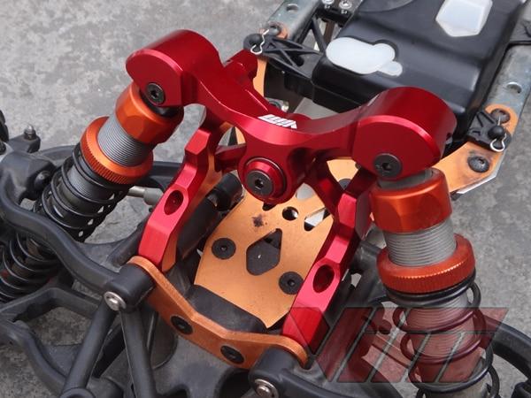 VIM Rocking butterfly frame shock tower for HPI Rovan KM 1/5 BAJA 5B area rc rear shock tower v2 for hpi baja 5b rm km