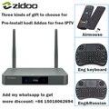 Original ZIDOO X9S HDMI TV BOX Android 6.0 16G with US EU Russia Aisa IPTV Movie Pre-install kodi Addon Multimedia Bluetooth 4K