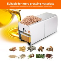 Cold Business Equipment Coconut Oil Pressure Maslopress Press Extraction Cocoa Beans Peanut Grapes Production Butter Machine