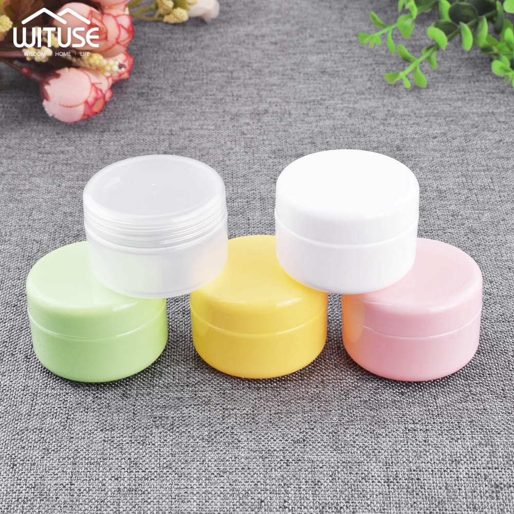 5pcs/lot Hot Selling Cream Jar Cosmetic Packaging Box Empty Jars for cosmetics Face Cream Container Storage Case 20/30/50g