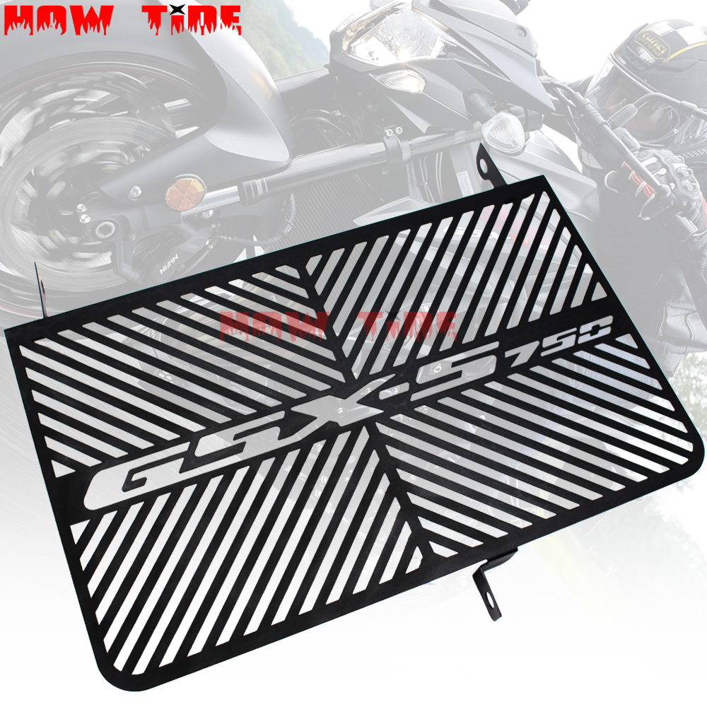 For SUZUKI GSX-S750 GSXS750 GSXS 750 2015-2018 Motorcycle Radiator Grille Guard Cover Protector Fuel Tank Protection Net(China)